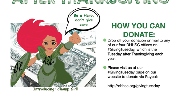 Dollars for the Deaf – a #GivingTuesday campaign